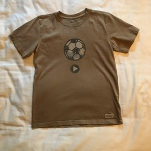 Life is Good youth shirt L
